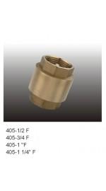 Клапан обратный  1/2 FRAP пласт.шток F-405 1/160