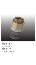 Клапан обратный  1/2 FRAP пласт.шток с сетк.18/162
