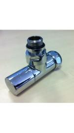 Вентиль запорный угловой для п/суш 3/4*1/2 г/ш колп