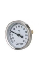 Термометр биметалл с погружн.гильзой GAPPO G1474 (5/50)