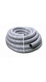 Труба дренажная N ПНД d63 с перфорацией в фильтре (50м)